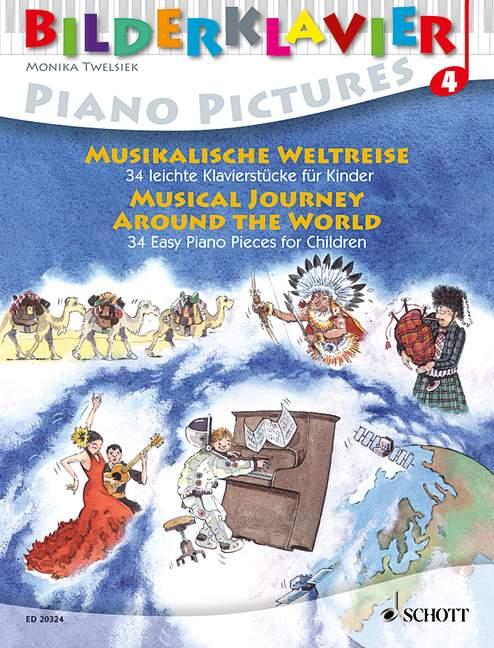 Musical Journey Around The World - Piano