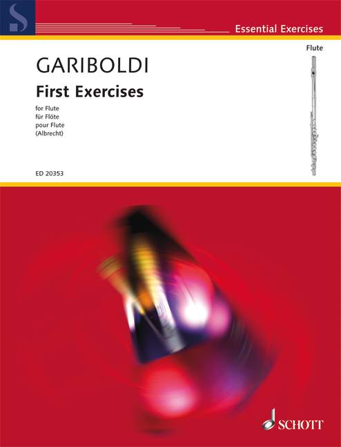 GARIBOLDI G.- FIRST EXERCISES OP. 89- FLUTE