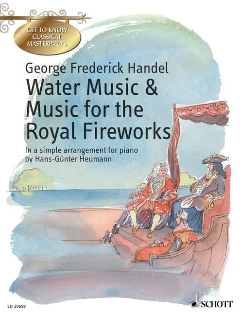 Haendel G.f. - Water Music - Music For The Royal Fireworks  Hwv 348, 349, 350, 351 - Piano