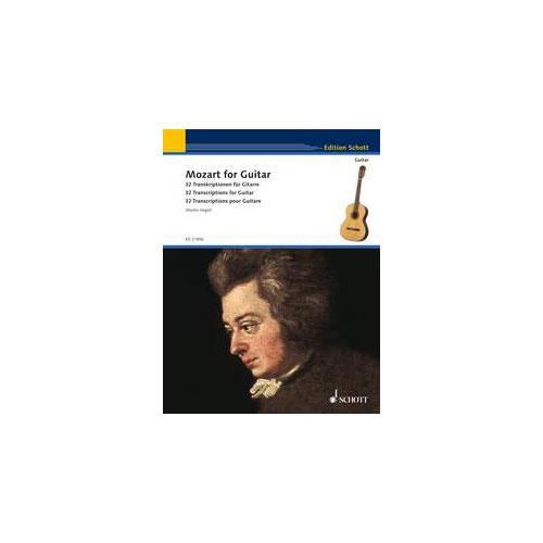 Mozart Wolfgang Amadeus - Mozart For Guitar - Guitar