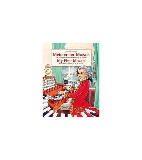 Mozart Wolfgang Amadeus - My First Mozart - Piano