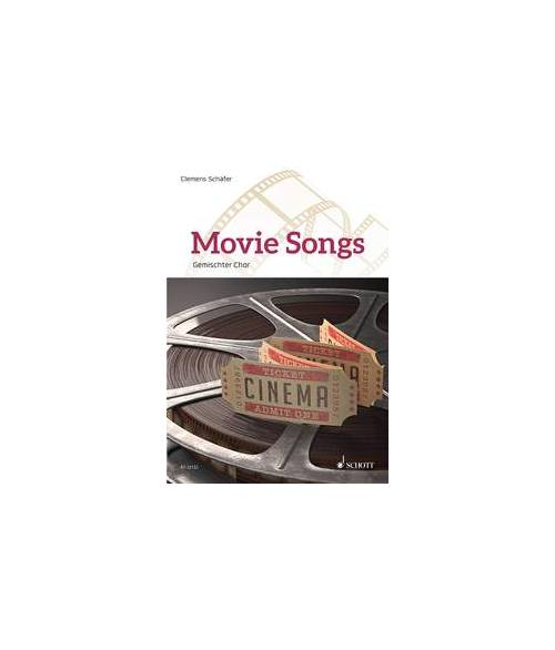 SCHAEFER CLEMENS - MOVIE SONGS - MIXED CHOIR (SATB) AND PIANO