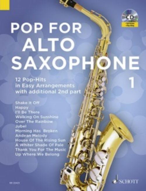 Bye Uwe - Pop For Alto Saxophone Vol.1 + Cd