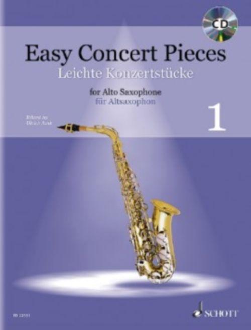 Junk Ulrich - Easy Concert Pieces Vol.1 - Saxophone Alto