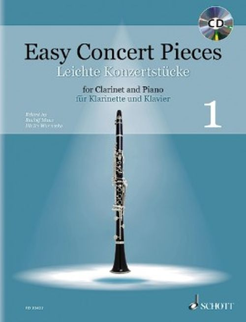 Easy Concert Pieces Vol.1 - Clarinette and Piano