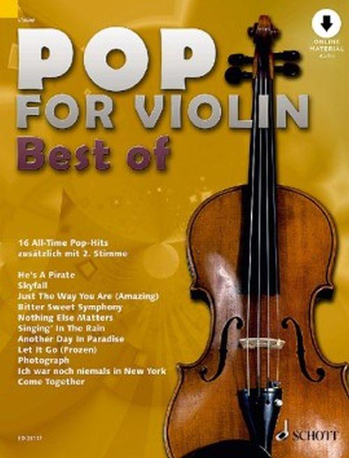 Pop For Violin - Best Of - Violon + Audio Online