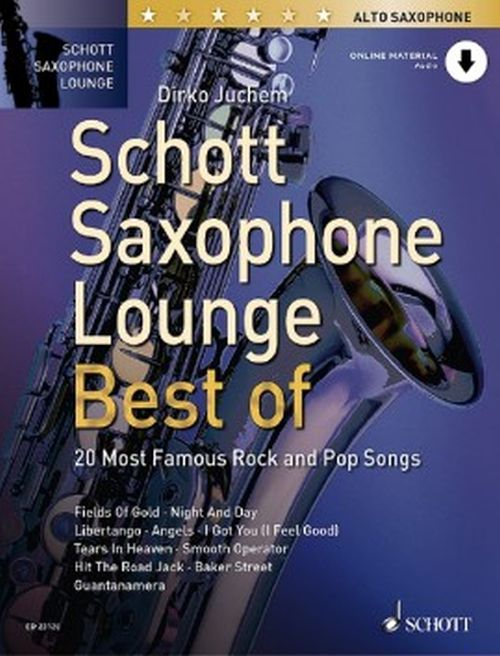 Juchem Dirko -  Saxophone Lounge - Best Of - Saxophone Alto and Piano + Onine Material