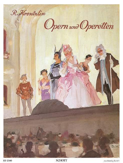 Operas And Operettas Band 1 - Piano