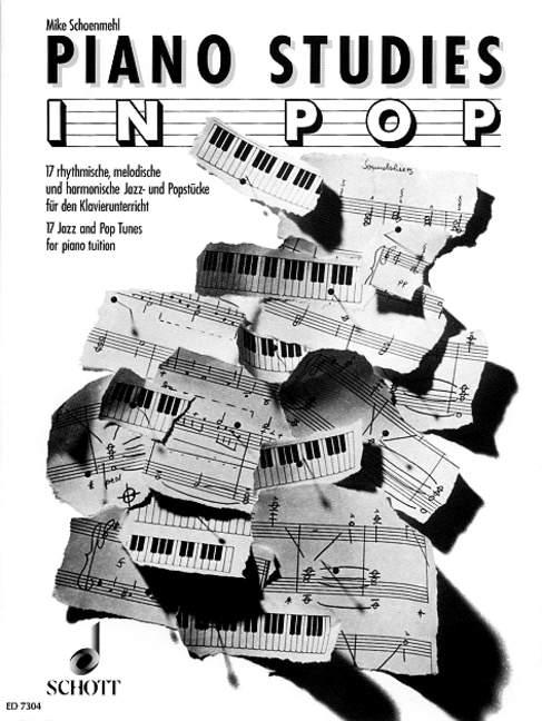 Schoenmehl Mike  - Piano Studies In Pop - Piano