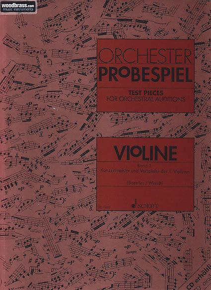 Orchester-probespiel Violon Vol. 1