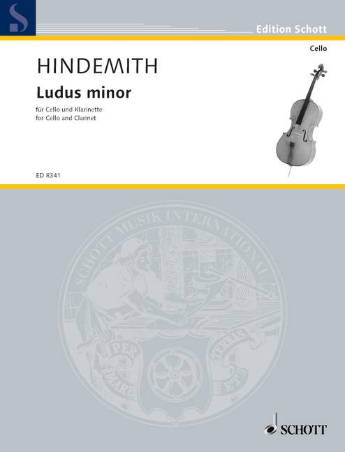 Hindemith Paul - Ludus Minor - Cello And Clarinet