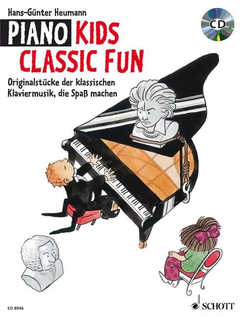 Heumann Hans Gunter - Piano Kids Classic Fun - Piano