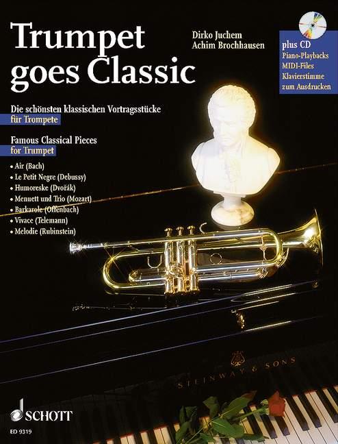 Trumpet Goes Classic - Trumpet; Piano Ad Lib.