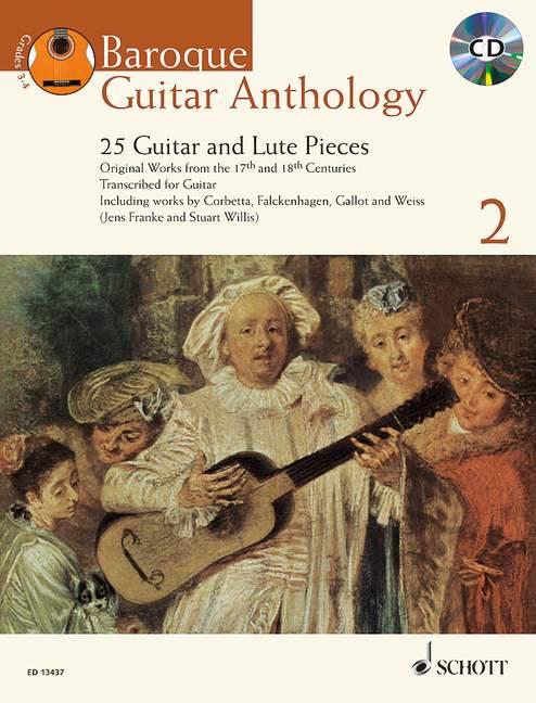 Anthologie De La Guitare Baroque Vol.2 + Cd