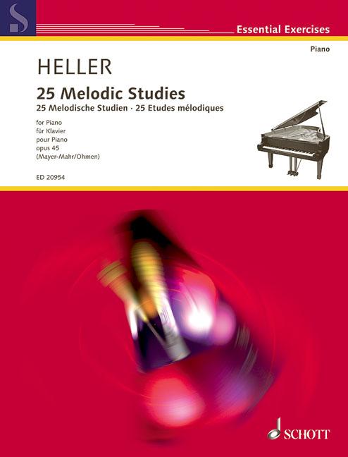 Heller S.- 25 Melodic Studies Op.45- Piano
