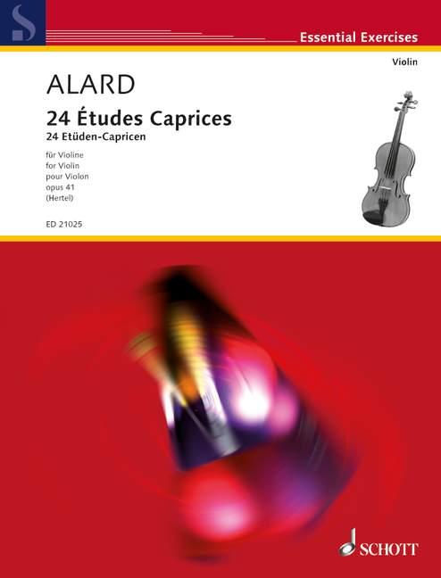 Alard D.- 24 Etudes Caprices Op. 41- Violon