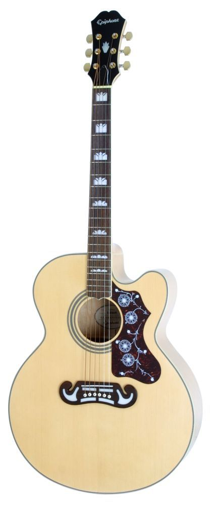 Epiphone Ej200ce Natural