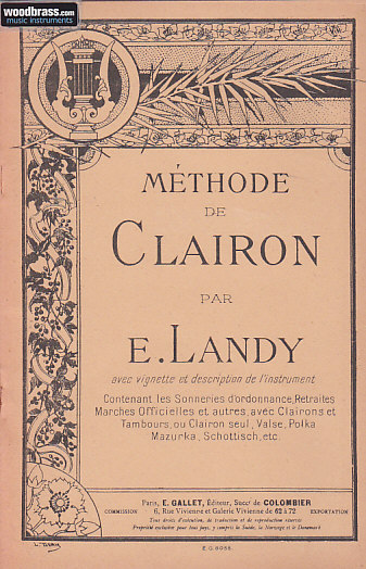 Landy E. - Methode De Clairon