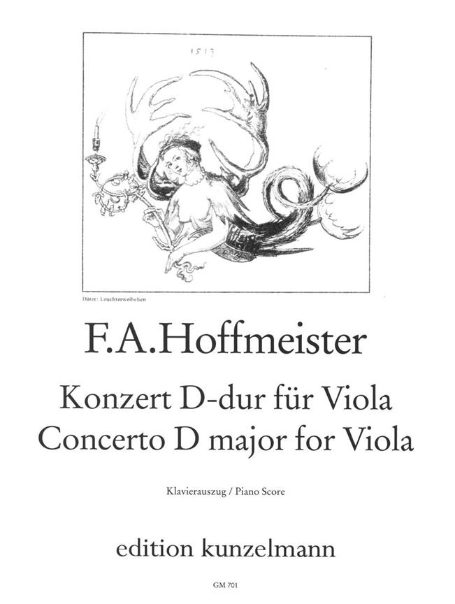 Hoffmeister F.a. - Viola Concerto D Major - Alto and Piano
