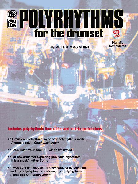 POLYRHYTHMS FOR THE DRUMSET + CD - DRUMS & PERCUSSION
