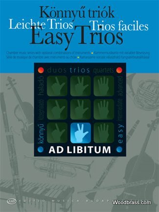 Easy Trios With Optional Combinations Of Instruments