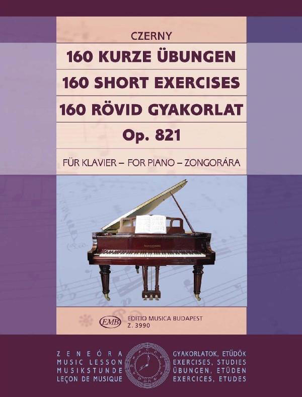 CZERNY - 160 SHORT EXERCISES OP.281 - PIANO SOLO