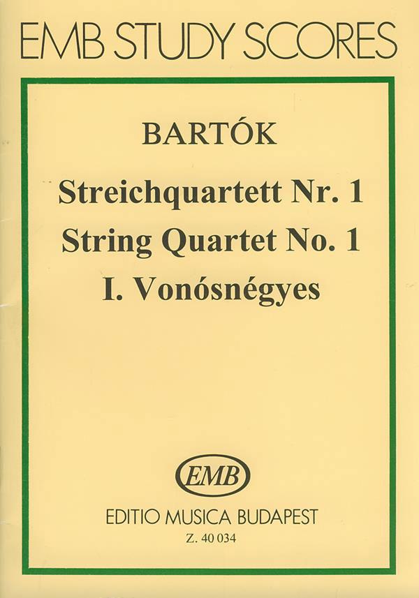 Bartok B. - Quartetto Per Archi N.1 Op.7 - Conducteur