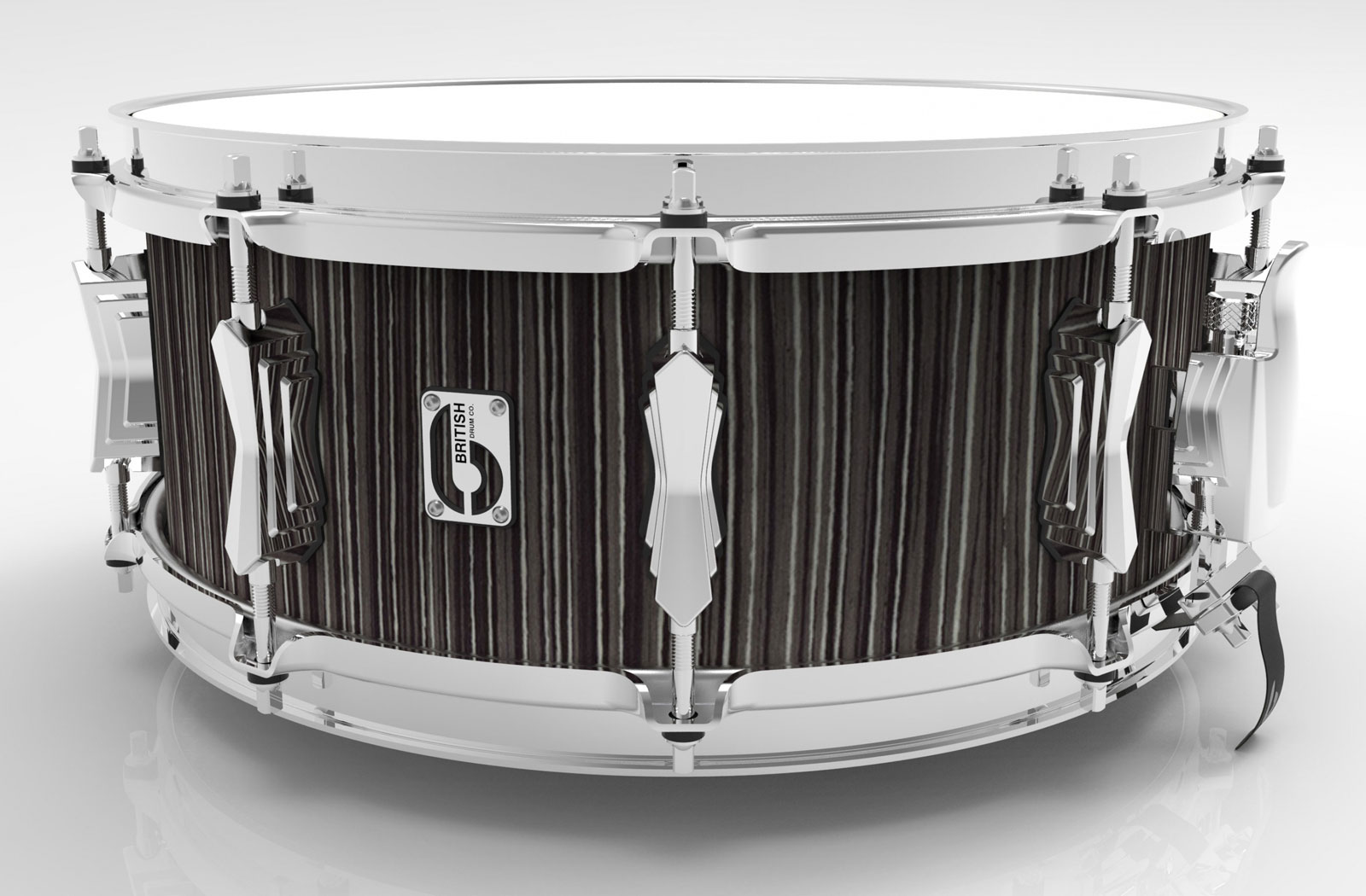 BRITISH DRUM CO 14 X 5.5 LEGEND CARNABY SLATE