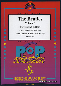 THE BEATLES - THE BEATLES VOL.3 - TROMPETTE & COR & PIANO
