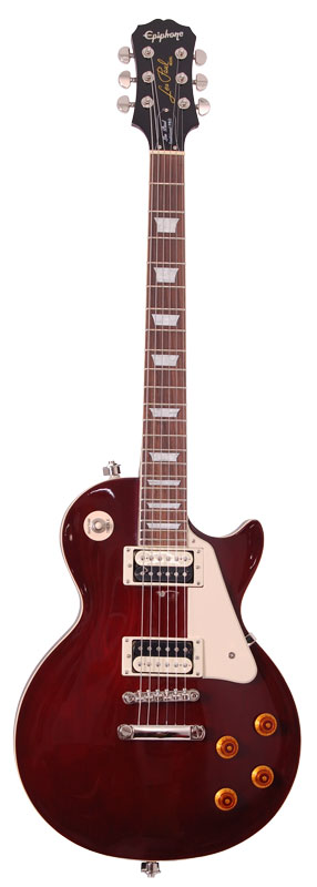 Epiphone Les Paul Traditional Pro Wine Red Accastillage Nickel