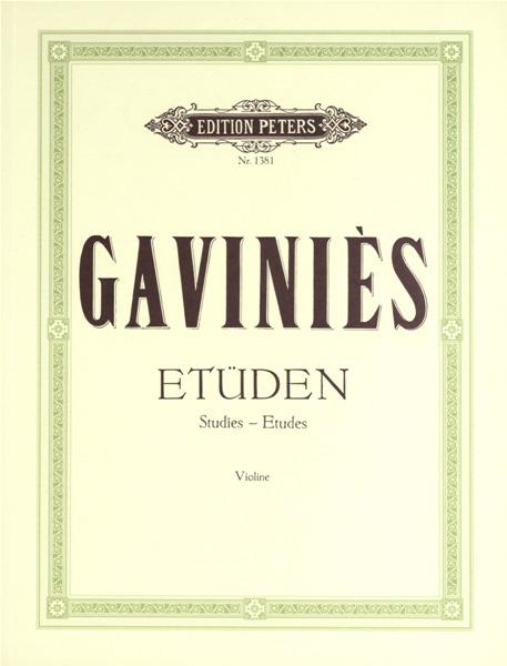 Gavinies 24 etudes pdf creator