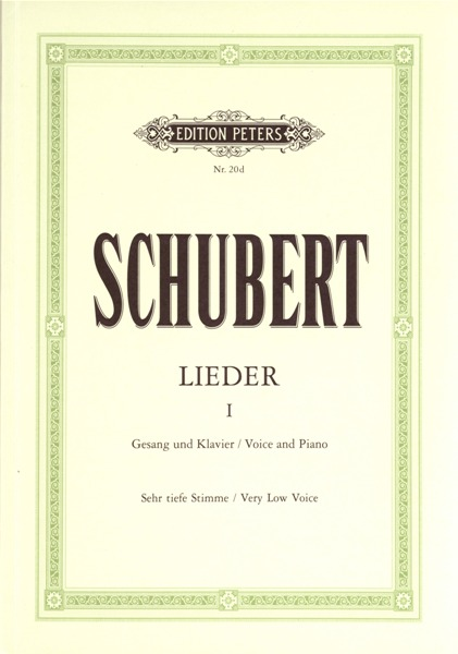 Schubert Franz - Songs Vol.i: 92 Songs - Voice And Piano (par 10 Minimum)