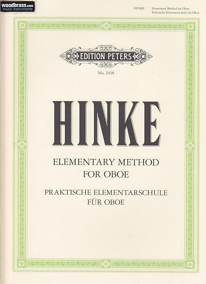 Hinke G. A. - Praktische Elementarschule Für Oboe