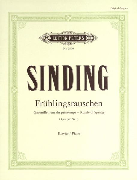 rustle of spring piano sheet music pdf