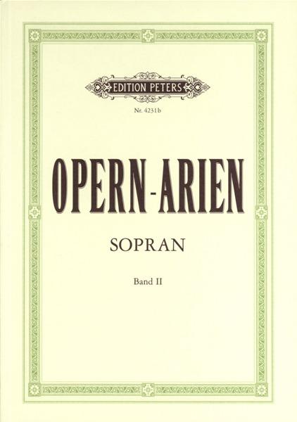 Opera Arias For Soprano - Voice And Piano (par 10 Minimum)