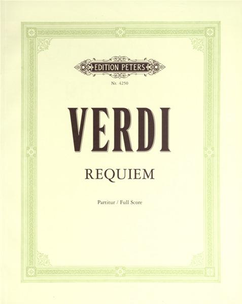 Verdi Giuseppe - Requiem - Full Scores