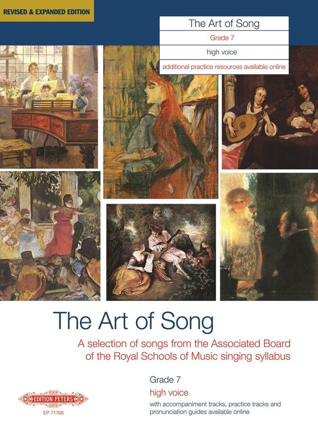 ART OF SONG (REVISED & EXPANDED EDITION) GRADE 7 HIGH VOICE - VOICE AND PIANO (PER 10 MINIMUM)