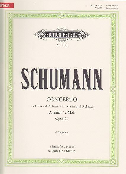 Schumann R. - Klavierkonzert A-moll Op. 54 - 2 Pianos