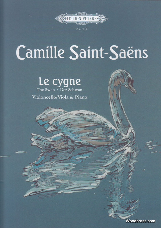 SAINT-SAENS CAMILLE - LE CYGNE - CELLO AND PIANO