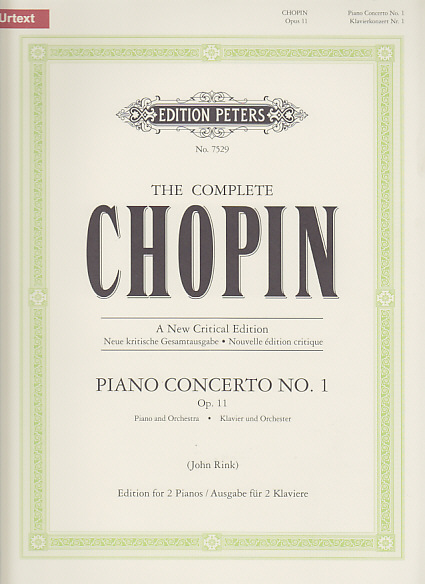 CHOPIN F. - CONCERTO N°1 OP.11 (NEW URTEXT EDITION) - 2 PIANOS