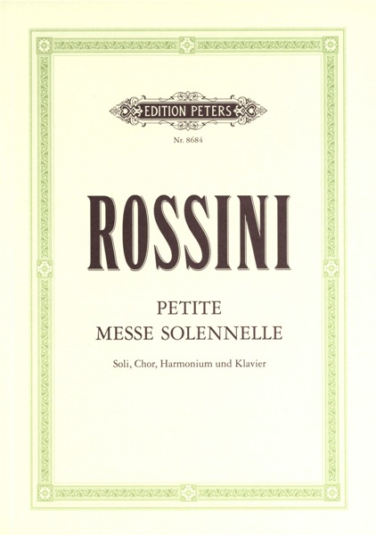 Rossini Gioacchino - Petite Messe Solennelle - Mixed Choir (par 10 Minimum)