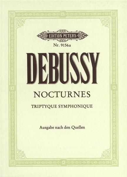 Debussy Claude - Nocturnes - Study Scores