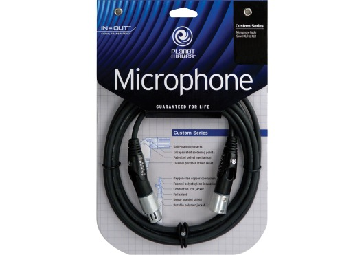 CUSTOM SERIES SWIVEL XLR MICROPHONE CABLE 25 FEET
