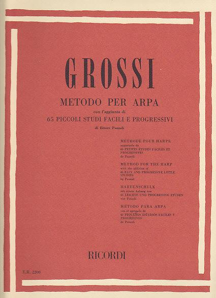 Grossi M. - Methode Pour Harpe