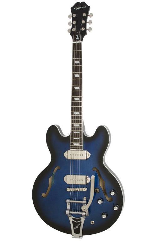 Epiphone Casino Bigsby Gary Clark Jr Blak&blu