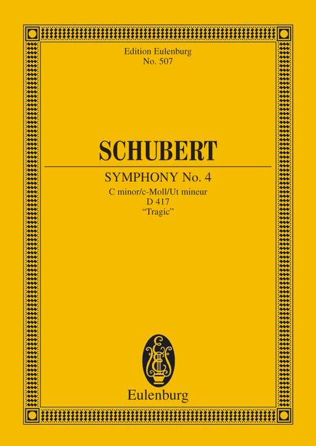 Schubert Franz - Symphony No 4 C Minor  D 417 - Orchestra