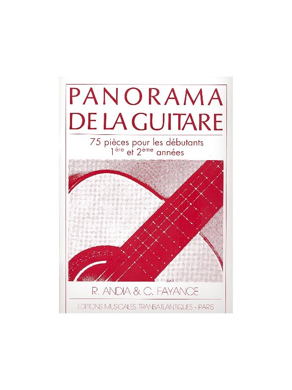 Andia / Fayance - Panorama De La Guitare Vol.1 + Cd