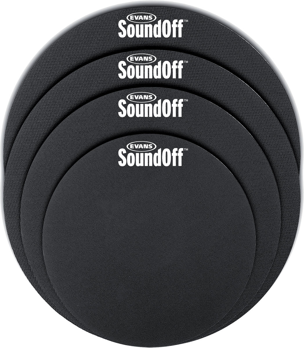 "SO0244 - SOUND OFF MUTE SET FUSION SIZES 10"" - 12"" - 14"" - 14"""