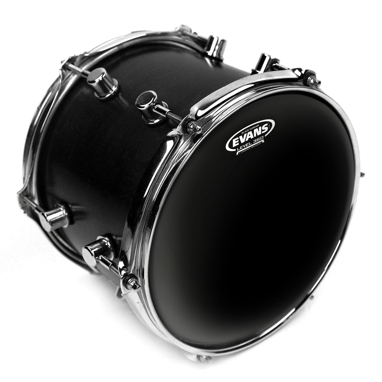 TT10CHR - BLACK CHROME 10""