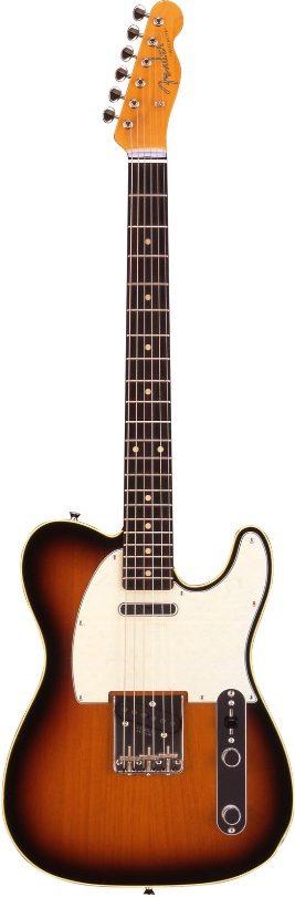 Fender Telecaster Japan Fuji Classic 62 Custom Sunburst Series